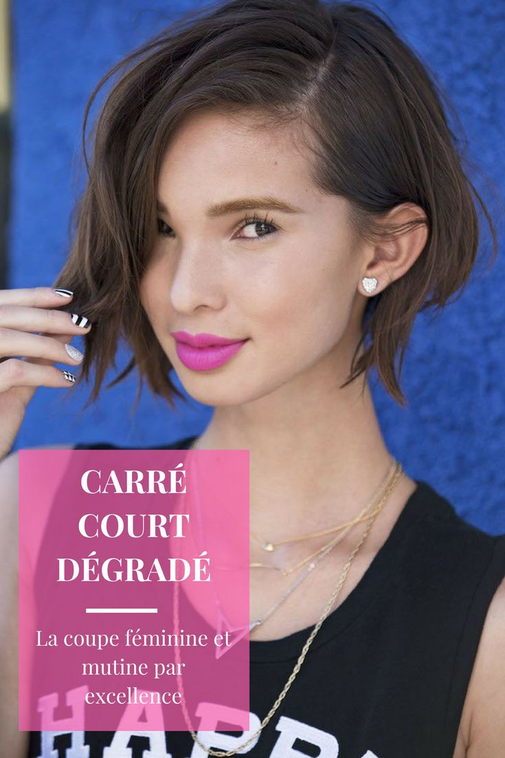 Top 25 best carr court d grad ideas on pinterest coupe cheveux courts en d grad coiffure - Carre court degrade ...