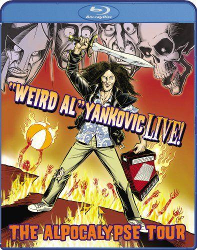 """Weird Al"" Yankovic Live! - The Alpocalypse Tour [Blu-ray] $7.80 Factory sealed DVD"