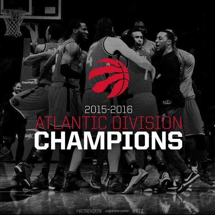 Toronto Raptors 2015-16 Atlantic Division Champions
