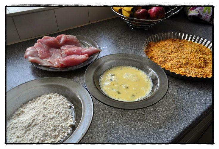 Kuchnia Borsuka: Kurczak w złotej panierce