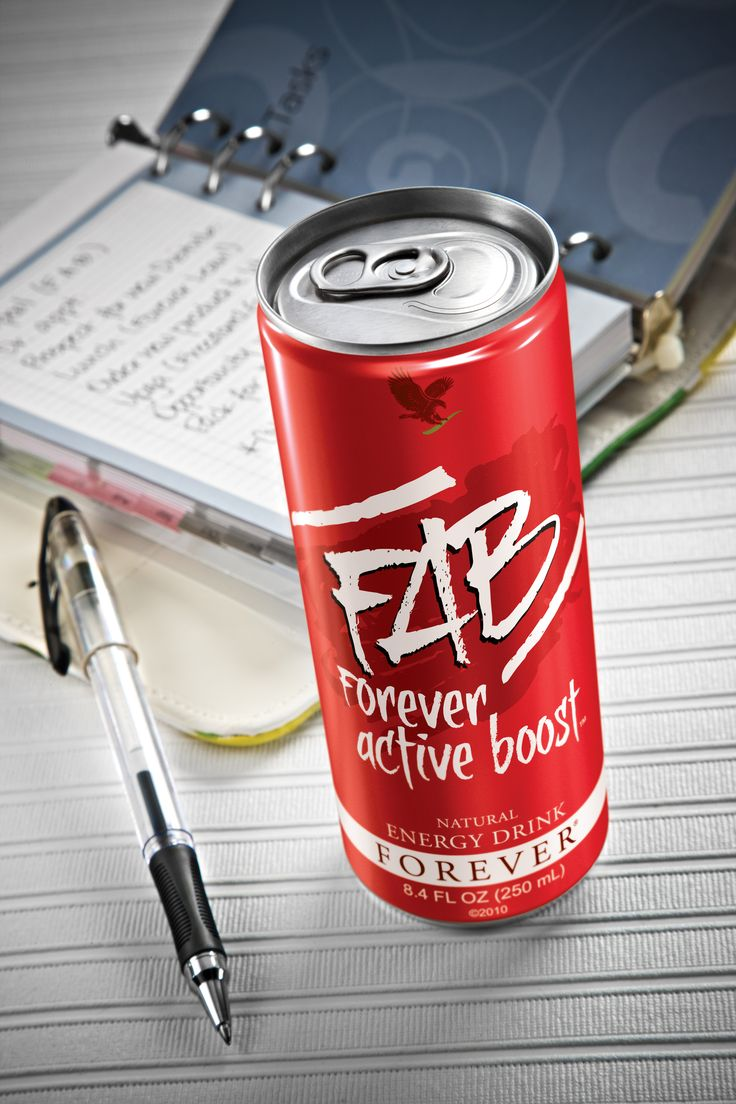 FAB Forever Active Boost™ Natural Energy Drink gives you that extra boost you need to stay active. With Aloe plus a proprietary blend of adaptogenic herbs, vitamins, and other ingredients, this great-tasting drink will 'keep your motor running' all day long!