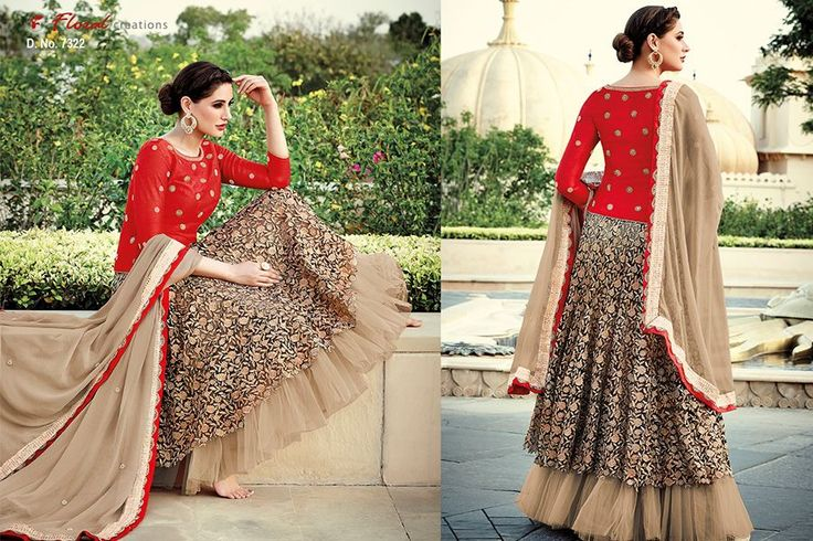 Classy and stylish anarkali is now available :) Call/whatsapp +9196006390563 for booking #fashion #bollywood #style #ethnic #collections