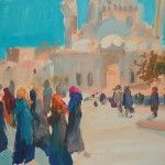 From recent. My Acrilic painting. Istanbul. #istanbul #painting #art #стамбул