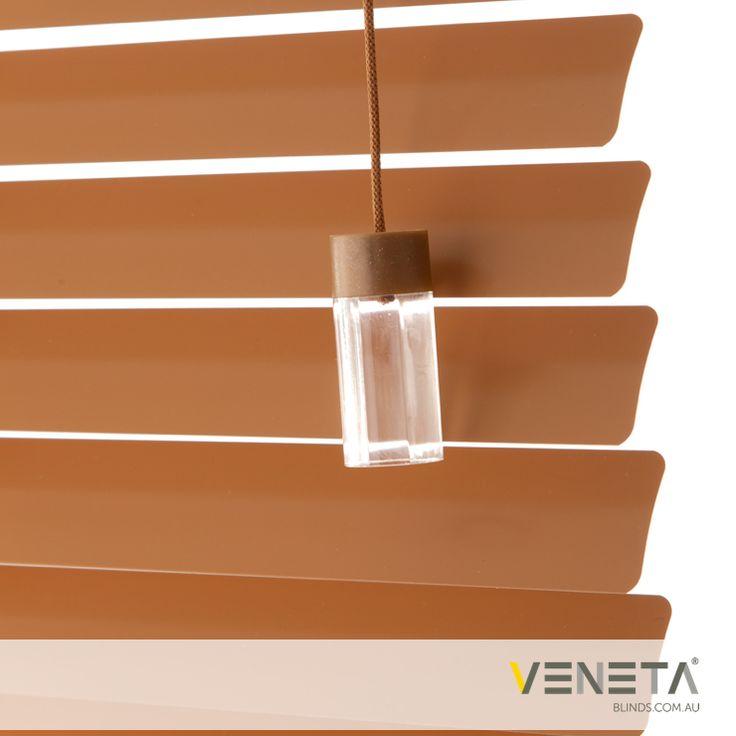 Veneta Blinds : Aluminium Blinds Colour : SUGAR MAPLE