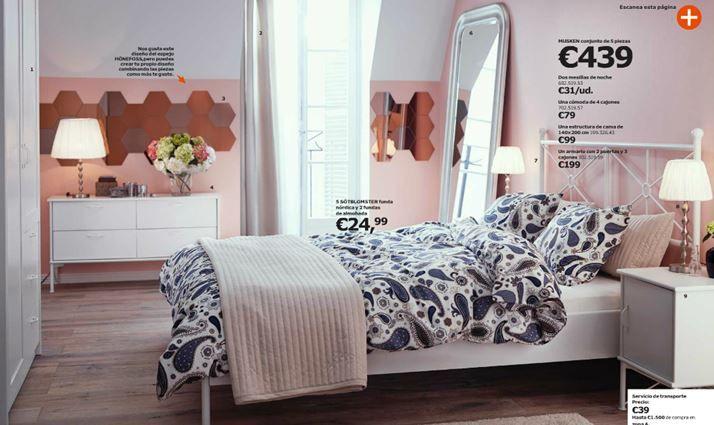 Catálogo Ikea 2015 los dormitorios