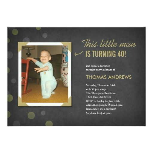 1000+ Ideas About Surprise Birthday Invitations On