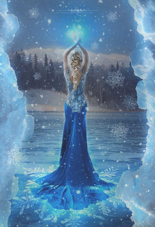 Frozen by dreamswoman on DeviantArt
