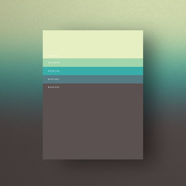 The Minimalist Color Palettes of 2015 – Fubiz Media
