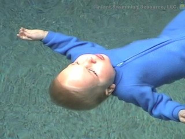 Infant Swimming Resource Self-Rescue by Infant Swimming Resource. Self-Rescue Swimming Lessons, ONLY medically sound baby and toddler swimming lessons in the U.S.|||Look at the video, it's amazing what a baby can learn to do to save themselves when they're in trouble in the water.