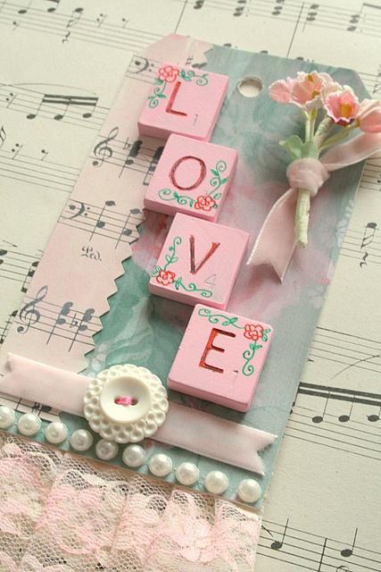 Valentine Love Tag