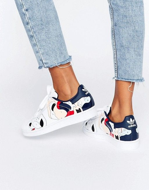 Adidas   adidas Originals X Rita Ora Paint Print Superstar Sneakers - Adidas Shoes for Woman - amzn.to/2gzvdJS
