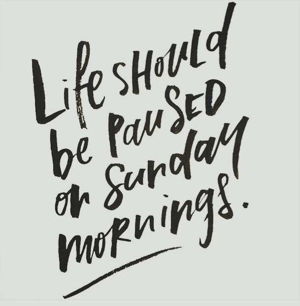 Sunday pause #sunday