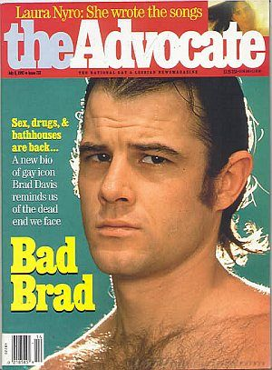 bisexual movie star Brad Davis (R.I.P.)