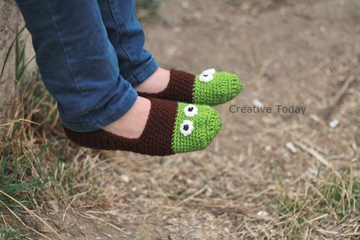 Slippers. (CreativeToday.breslo.ro)
