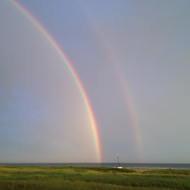Double Rainbow. Provincetown. #capecod