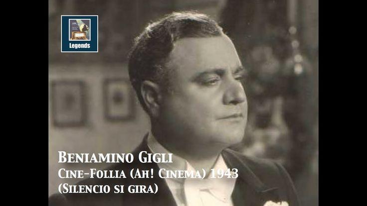 """Beniamino Gigli: """"Cine-Follia"""" (Movie Crazy) (1943)"""