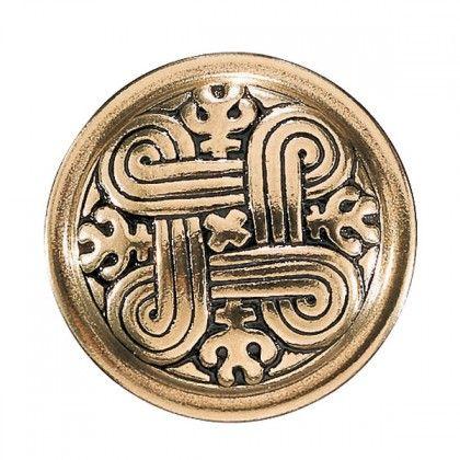 Kalevala Koru / Kalevala Jewelry / St. John's brooch / Hannunvaakua rintakoru / Material: bronze