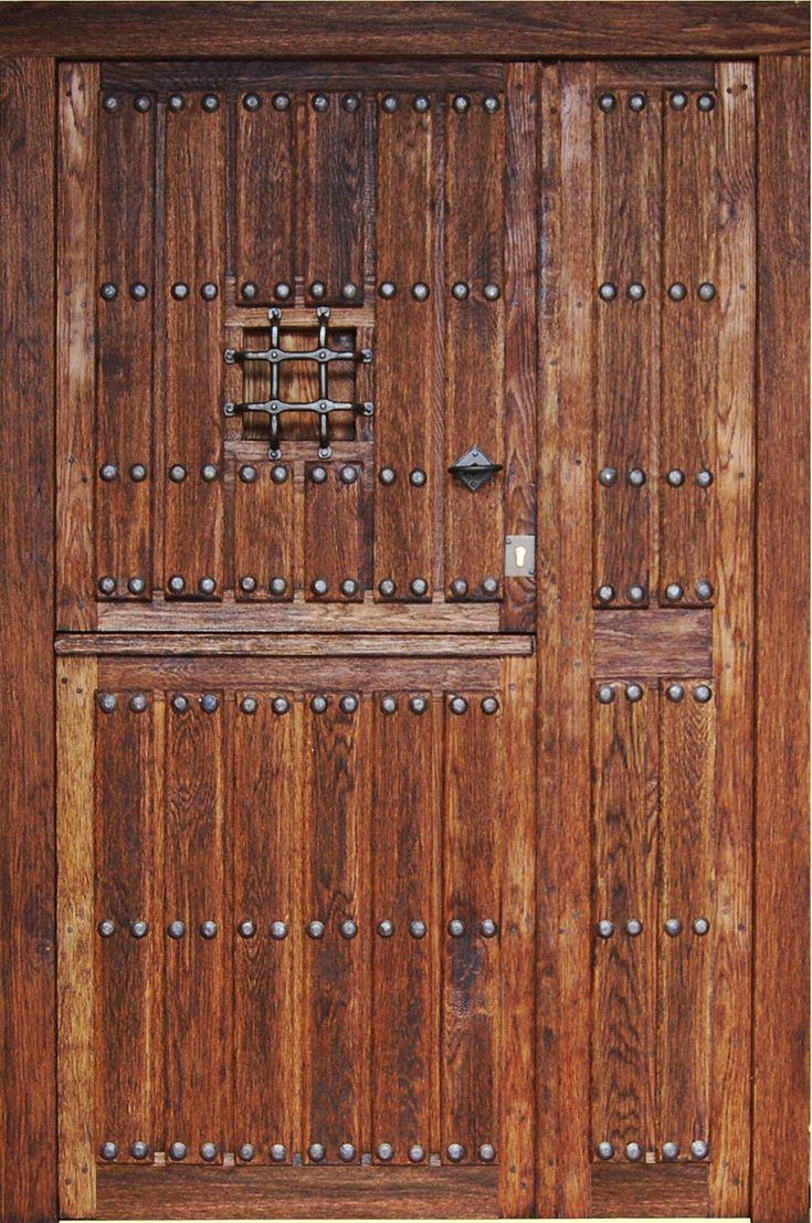 puertas rústicas exterior - Buscar con Google                                                                                                                                                      Más