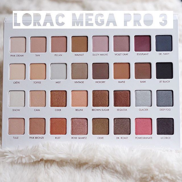 It's even more beautiful in person! swatches- Lorac Mega Pro 3
