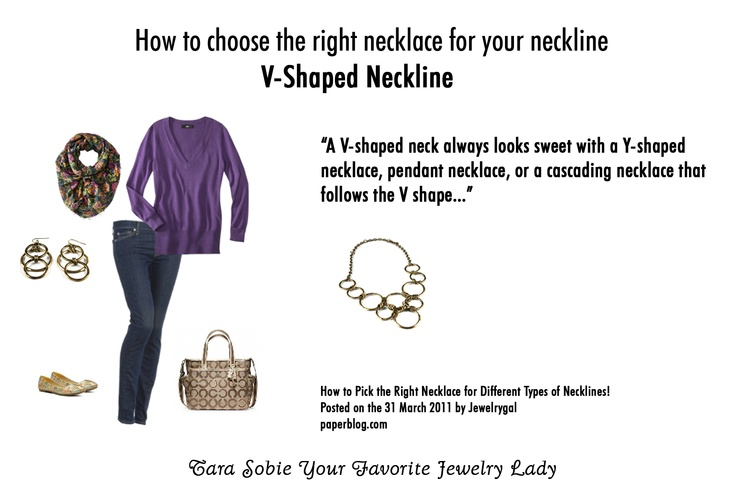 19 best Matching Jewelry and Necklines images on Pinterest ...