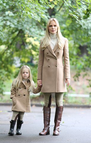 Stylish mom and daughter. me and kook or koko and my granddaughter.  I'll have a matching outfit too of course.