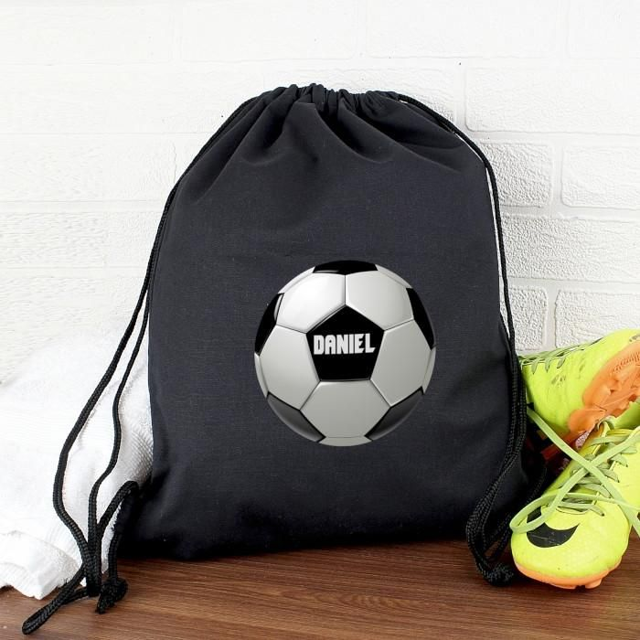 Black Personalised Football Kit Bag. https://harringtons-gift-store.co.uk/collections/back-to-school/products/black-personalised-football-kit-bag