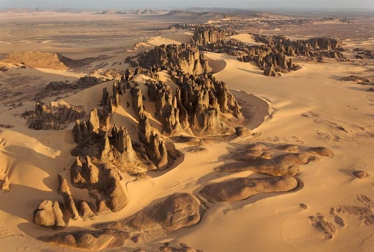 View of the Deserts from the Air