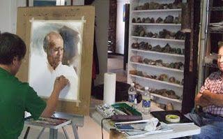 Li is a portrait painter also.