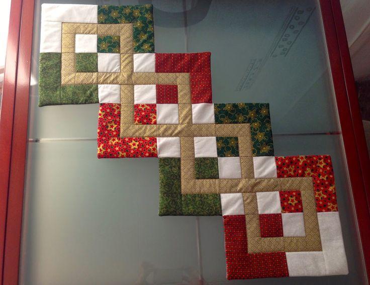 La brujita del patchwork: Llegó la Navidad!