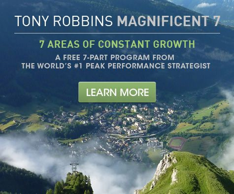 Do you feel like something's missing in your life? Download Tony Robbins free seven step program that will help you challenge your negative beliefs and lift you out of the rut!   Get it now: http://bit.ly/m7socm