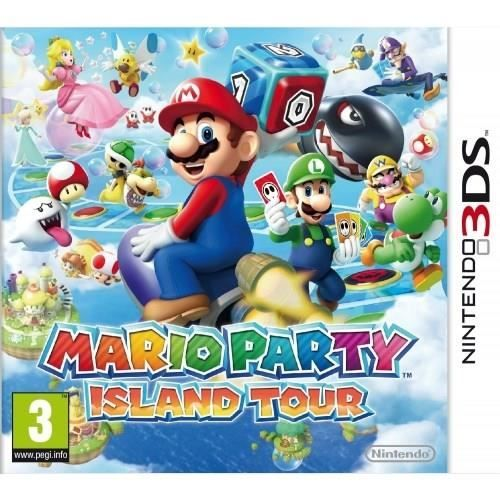 MARIO PARTY ISLAND TOUR / 3DS prix promo Cdiscount 29.99 € TTC