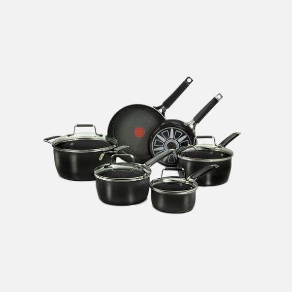 Jamie Oliver - Hard Enamel 10 Piece Cookware Set