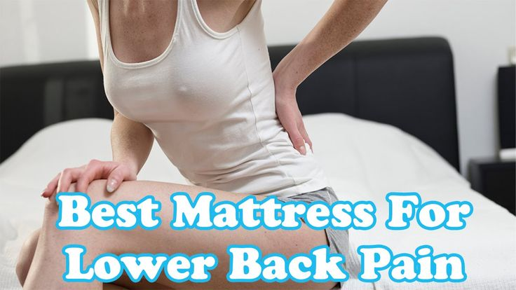 Best Mattress for Lower Back Pain | Different Types of Mattress for Lowe...