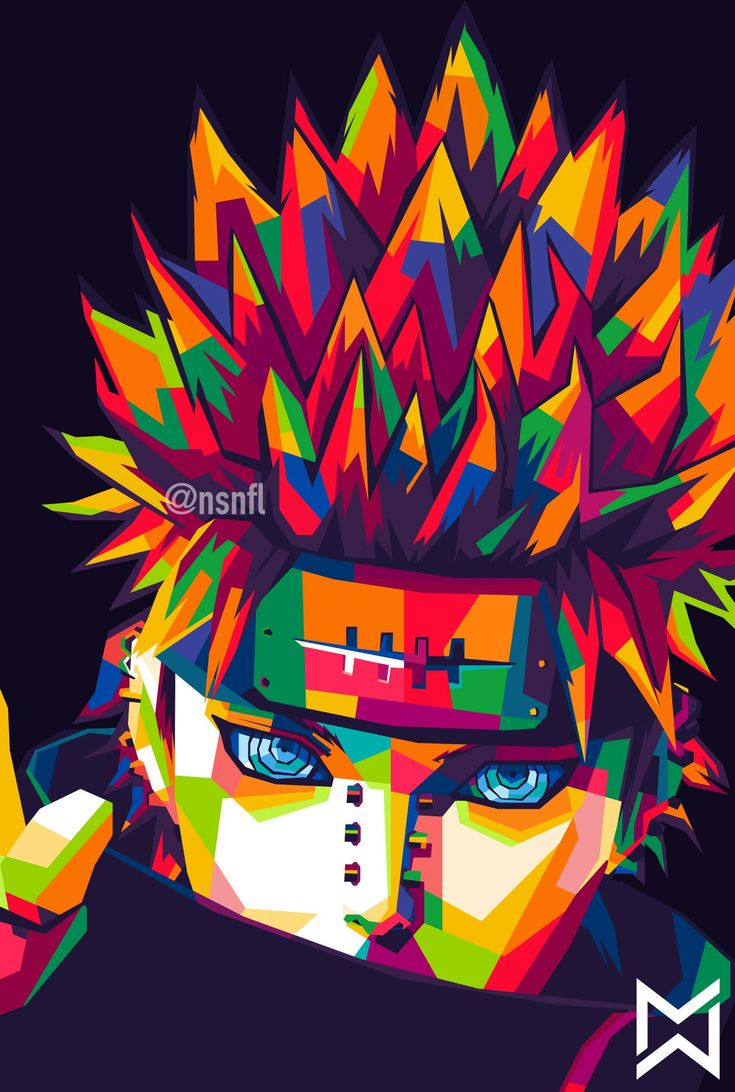 Pain in WPAP art of Indonesia