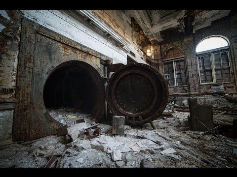 ABANDONED federal gold exchange BANK ( FOUND VAULT ) PART 1 - YouTube