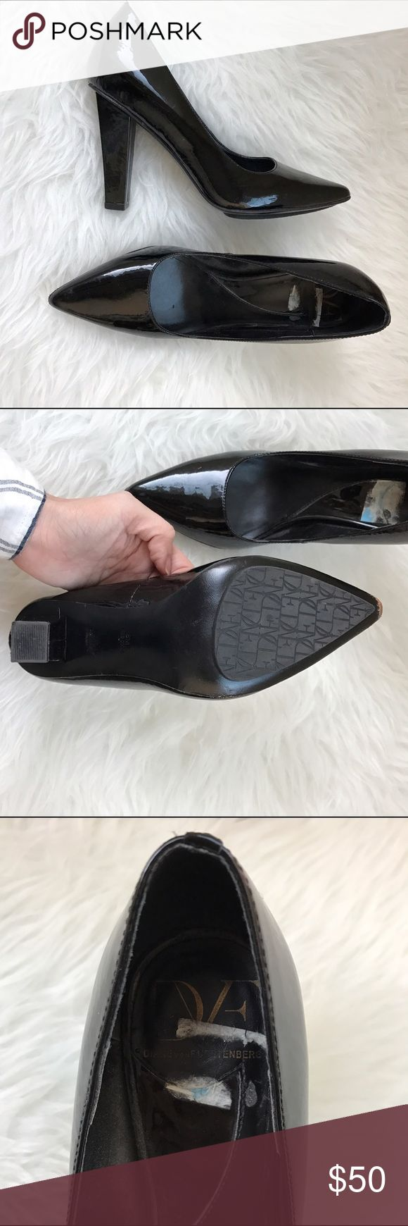 DVF Pumps Used but bought from Last Chance (in AZ). Love them but they're just sitting in my closet :( Diane von Furstenberg Shoes Heels
