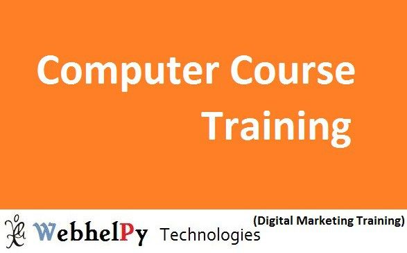 Computer Course training in Faridabad - Computer Education insitute webhelpy technologies