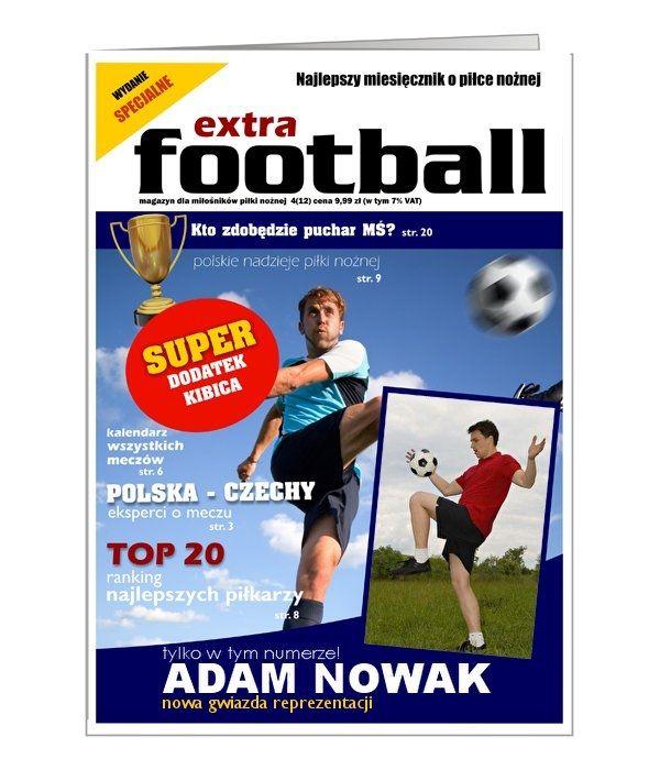 Kartka dla miłośnika piłki nożnej