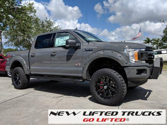 Lifted Trucks New Lifted 2018 Ford F150 Xlt Rocky Ridge K2