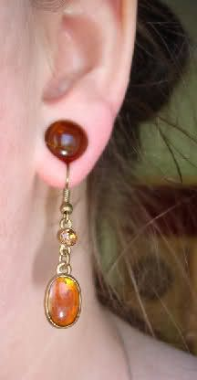 Wearing Regular Earrings With Stretched Lobes