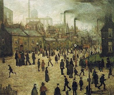 A Manufacturing Town, United Kingdom, 1922, by LS Lowry.