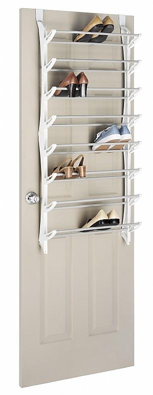 Over The Door 3 Tier Bathroom Towel Bar Rack Chrome W: 17 Best Ideas About Over Door Shoe Rack On Pinterest