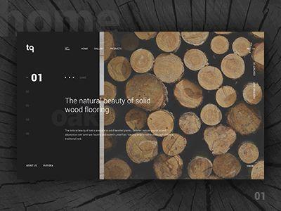 TQ - Homepage Animation by Anton Skvortsov