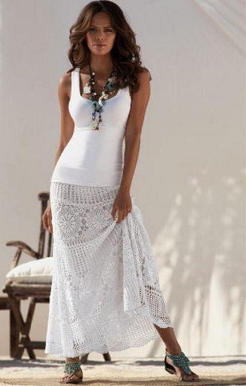 Boston Proper Crochet Skirt  From Victoria's Secret   sooooooooooo cute