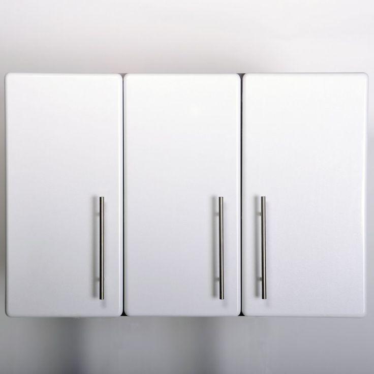 Ulti-MATE Starfire Pearl 35.5 in. Garage Wall Cabinet with Adjustable Shelf - GA-08SW
