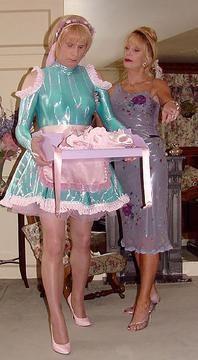 transvestite Mrs silk