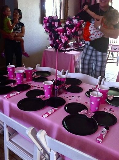 """Minnie Mouse / Birthday """"Minnie Mouse Party"""""""
