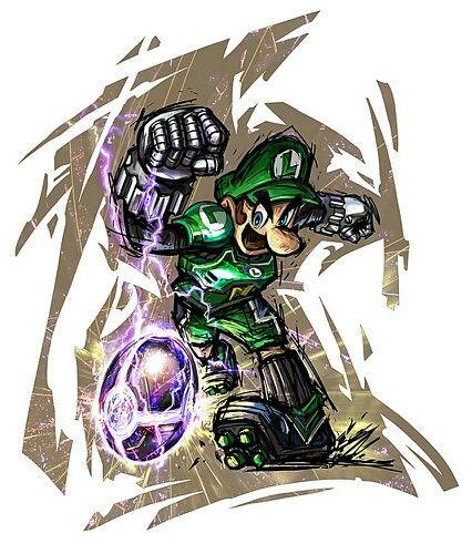 Luigi - Characters  Art - Mario Strikers Charged.jpg
