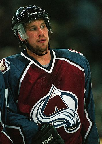 peter forsberg | colorado avalanche #hockey #nhl