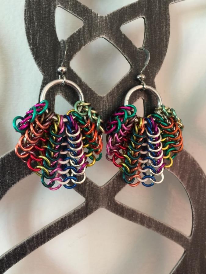 Bat Wing Earrings by bojanli
